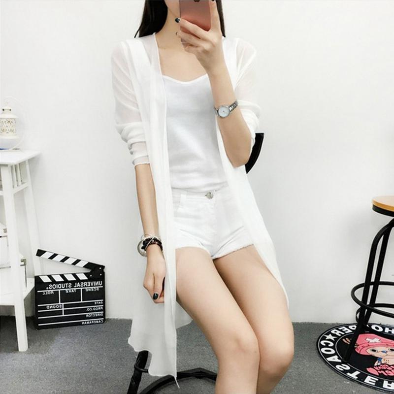 京�|�物商城2018新款春�b蘑菇街淘��美搭夏装百搭女装雪纺衫中长