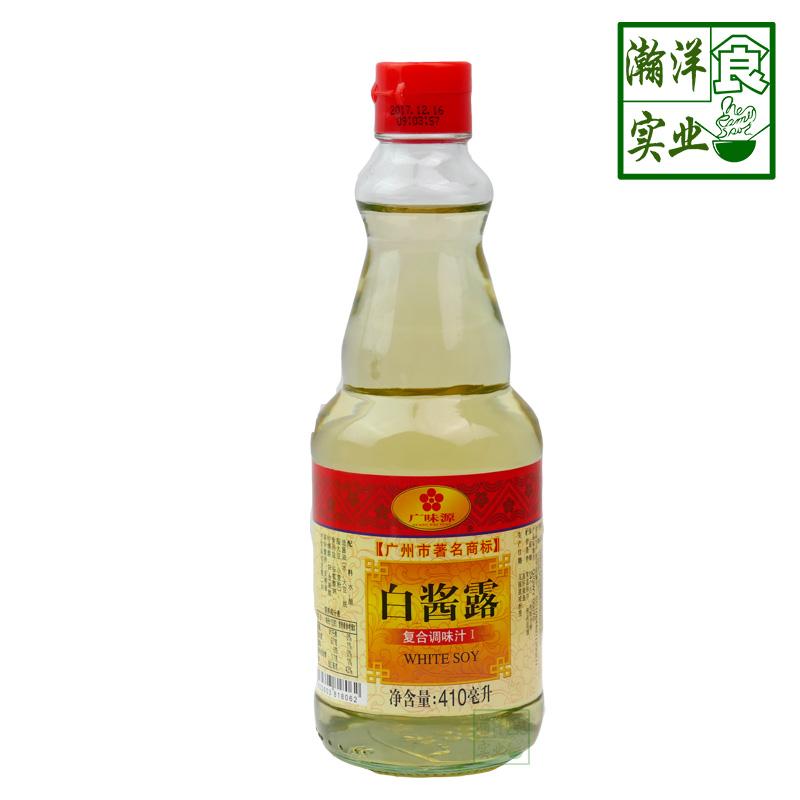广味源白酱露 410ml调味酱油汁 滋味鲜美咸 味极鲜无白酱油调料