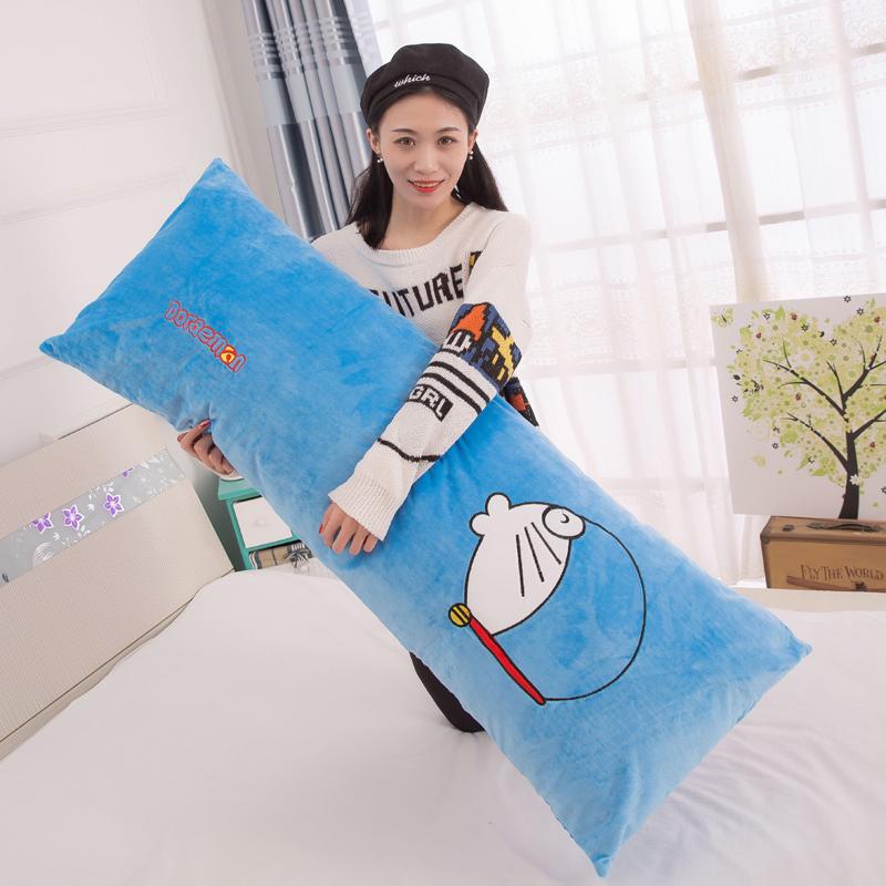 毛絨玩具女生長條抱枕卡通睡覺枕頭可愛單人枕玩偶枕頭靠墊可拆洗