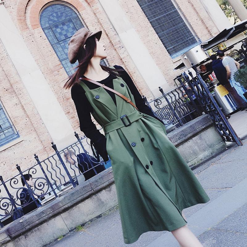 早秋大码女装2018新款微胖显瘦洋气减龄套装秋季胖mm连衣裙两件套
