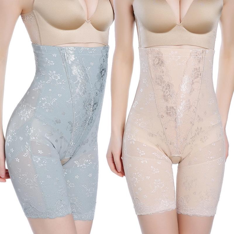 美人颜计高腰塑身裤女提臀收肚子大腿孕妇产后收腹裤女塑身美体裤