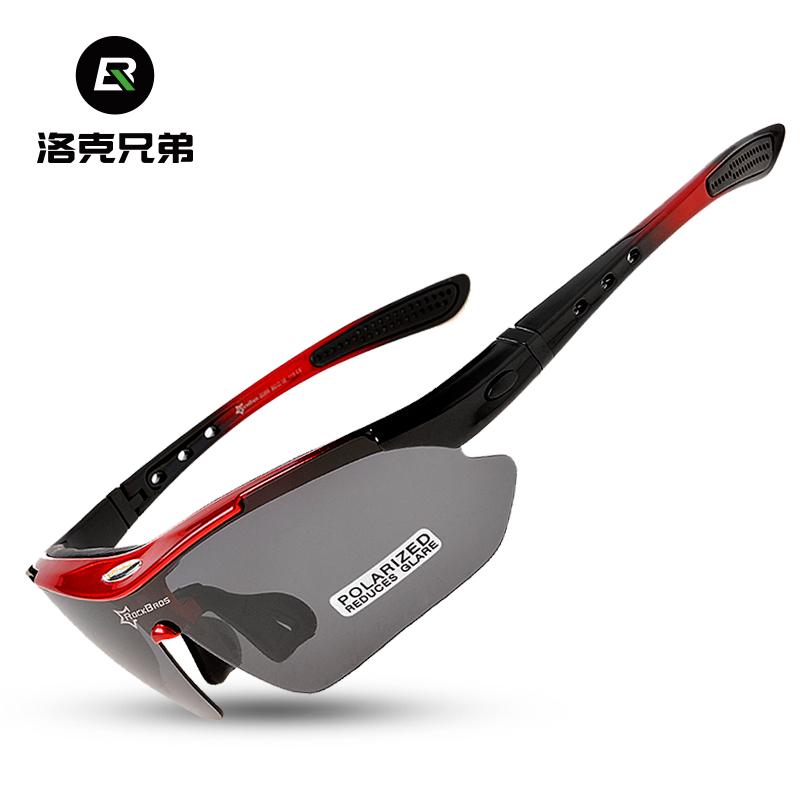 Локк братья поляризующий верховая езда очки близорукость модельа на открытом воздухе движение ветролом песок велосипед очки оборудование