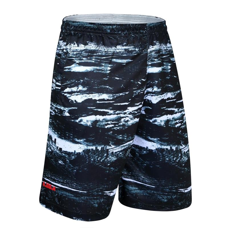 New James Basketball Shorts fitness running training Capris loose and breathable plus size men