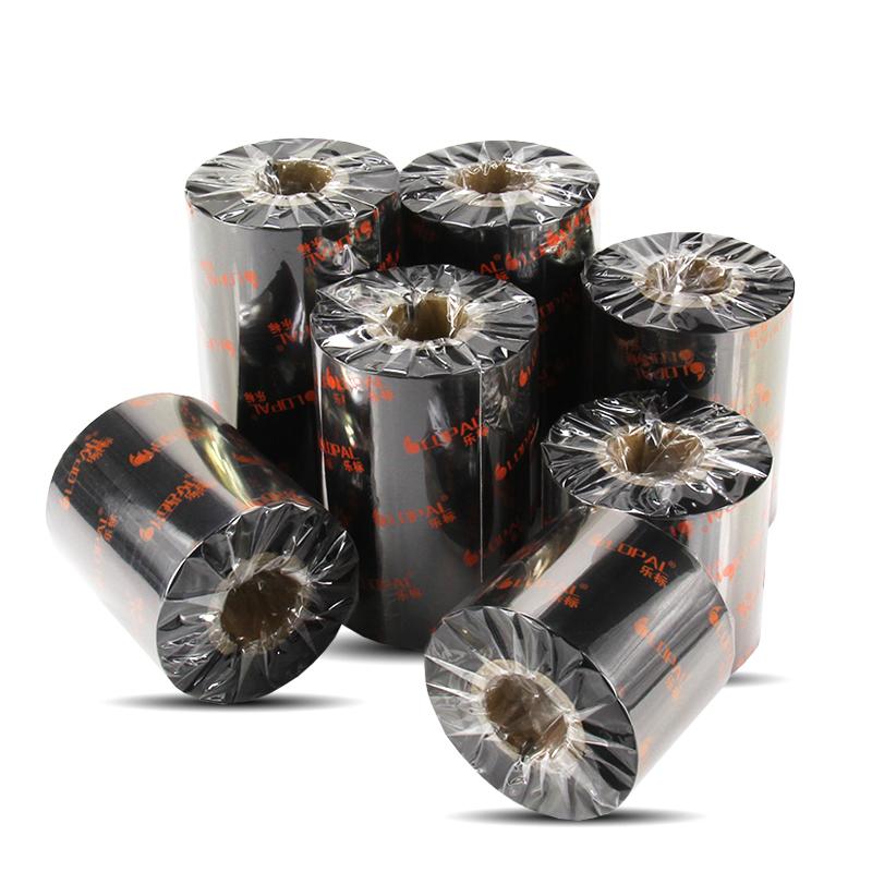 樂標混合基碳帶寬50~110mm 300M打印機色帶標簽紙 熱轉印條碼碳帶