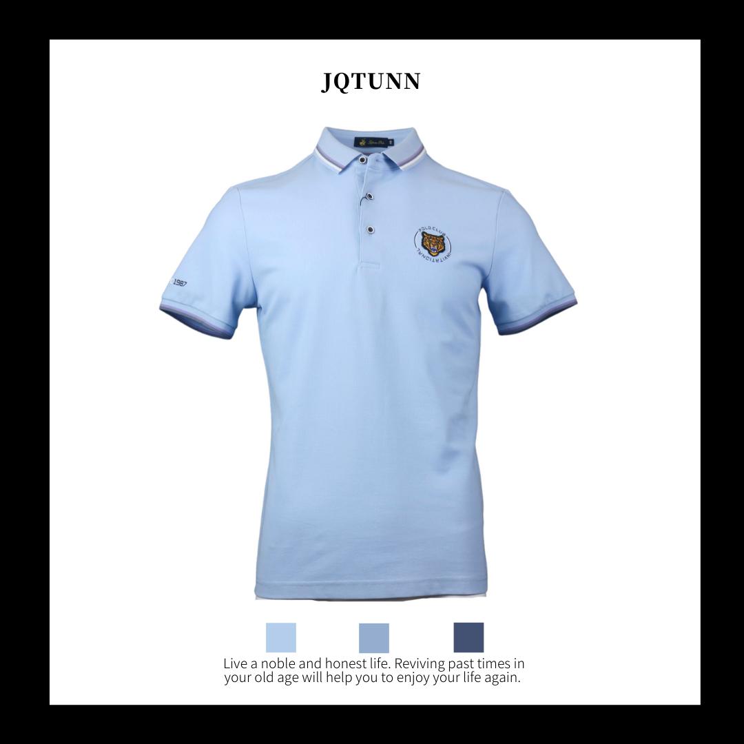 Yoton Paul genuine 21 summer new mens gift short sleeve cotton T-shirt casual polo shirt polo