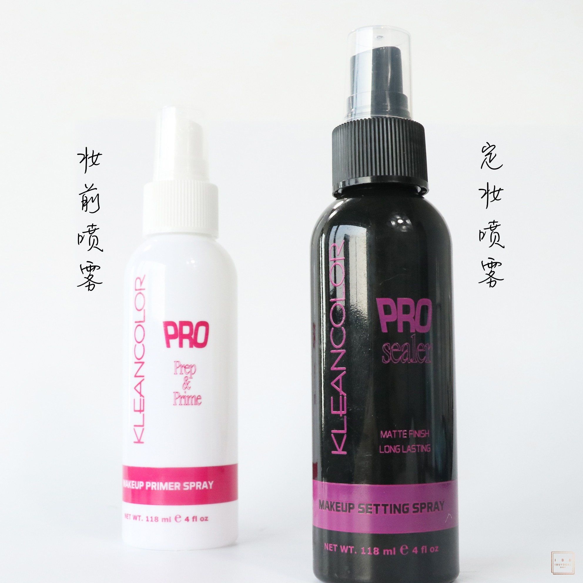 【保��}�l】KLEANCOLOR Primer Setting Spray�y前/定�y���F套�b