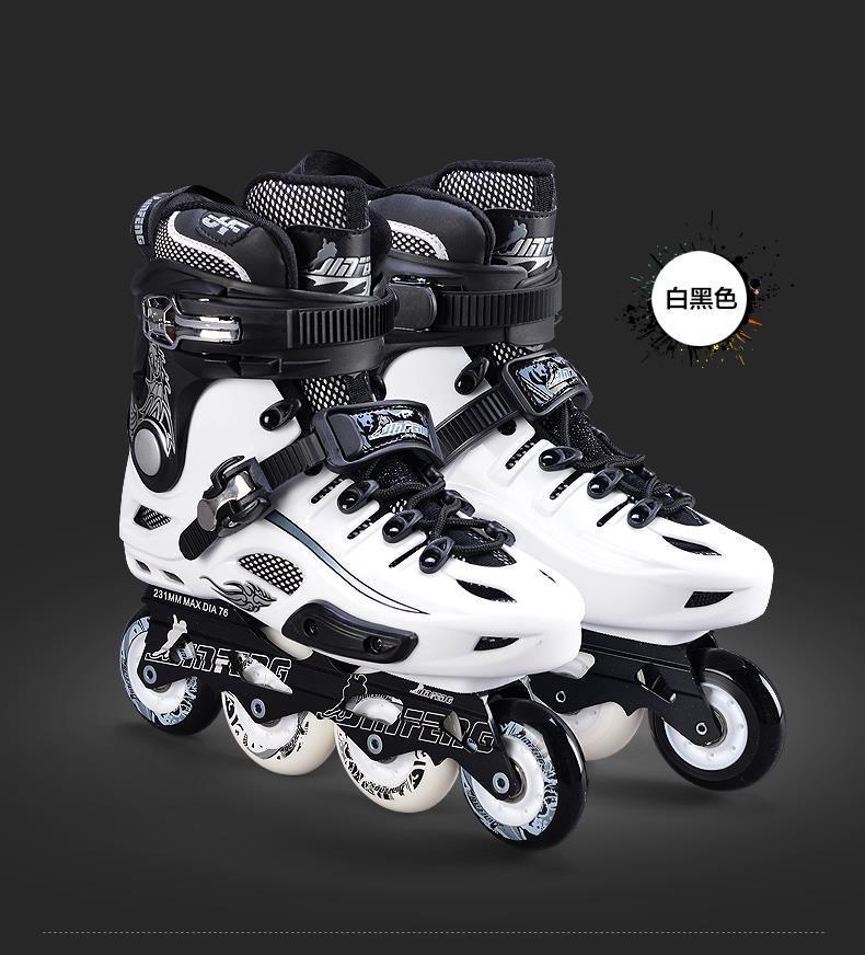 正品金峰S530平花鞋成人溜冰鞋旱冰鞋轮滑鞋双功能适合初学可升级