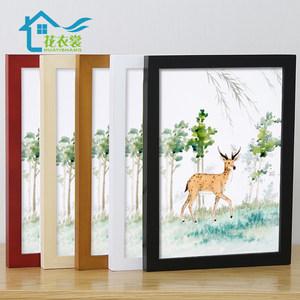 实木挂墙装裱创意16寸开相框画框架