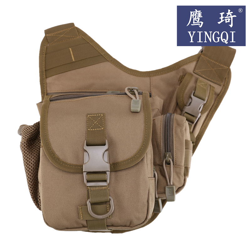 Postal multifunctional bag inclined cross bag small saddle bag military fan camouflage backpack riding bag fishing bag catapult outsourcing