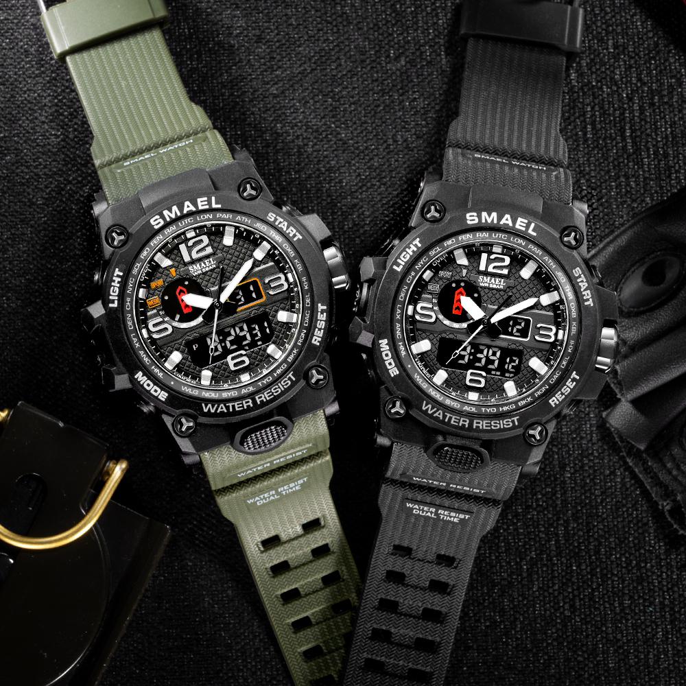 スポーツ多機能電子時計学生カップルに人気の男女防水腕時計です。