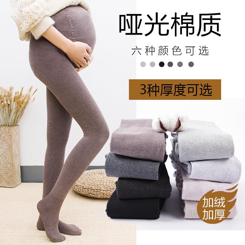 显瘦秋冬款孕妇装三种厚度打底裤