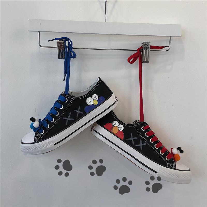帆布鞋女休闲小白球鞋学生板鞋2019夏季韩版百搭潮鞋新款智熏女鞋