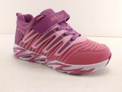 新款儿童鞋31-37冬季大棉加毛保暖轻便女中大童女童棉鞋运动鞋