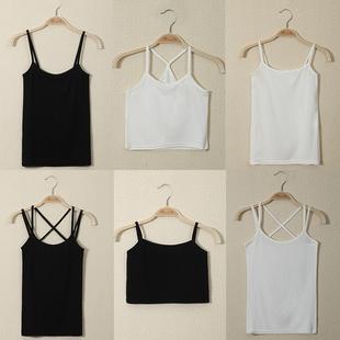 吊带背心女夏季性感外穿短款打底上衣显瘦内搭小吊带衫内穿设计感