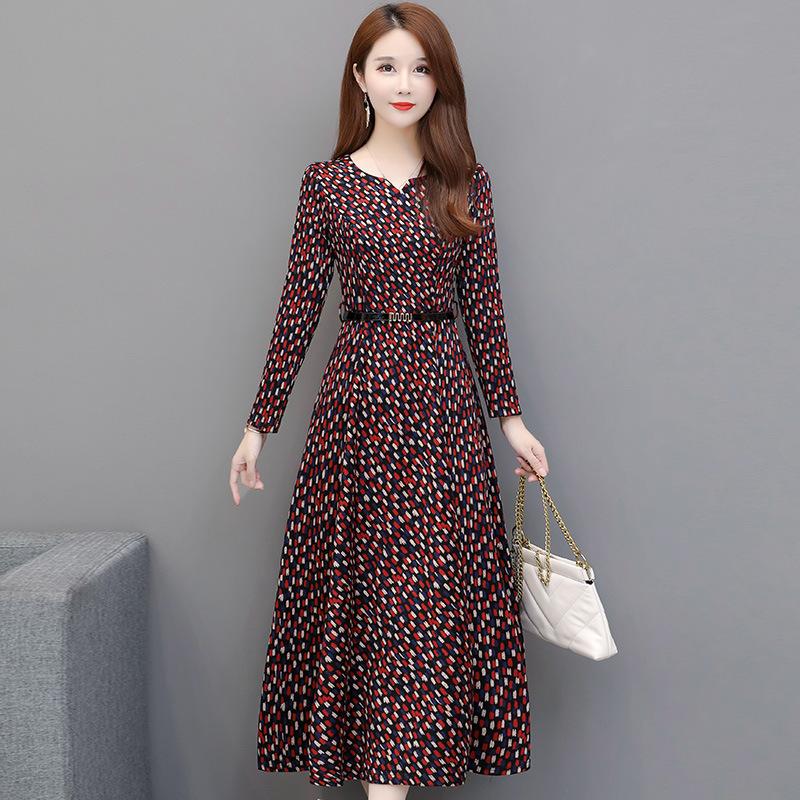 11月10日最新优惠显瘦显高气质秋装2019新款潮连衣裙