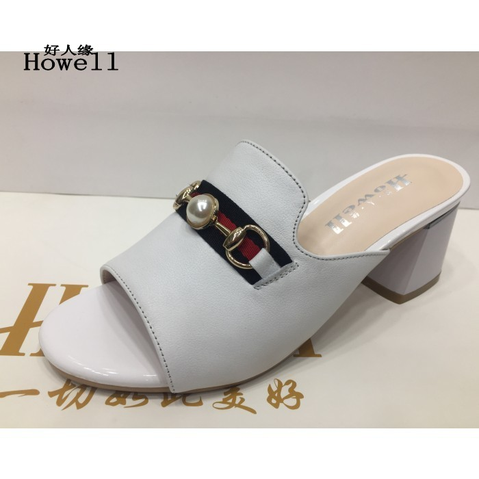 Genuine summer new Senda leather shoes popular womens sandals leather slippers womens shoes nzg24
