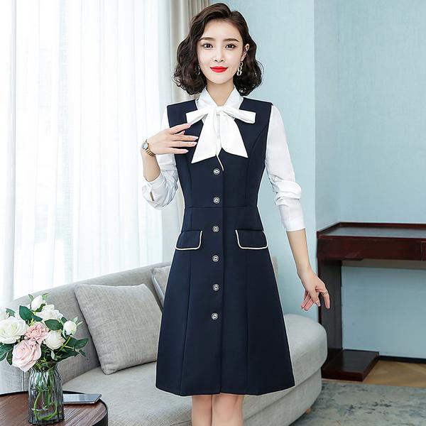 TS48407#职业装女裙套装