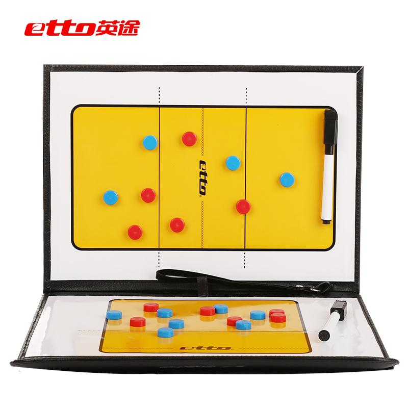 Etto английский способ кожа зажим волейбол тактический доска 22 магнитный зерна портативный портативный волейбол борьба доска тренер оборудование для статья