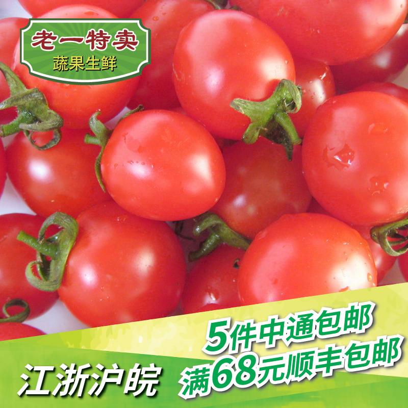 老一特卖 新鲜圣女果 500g 千禧小蕃茄迷你西红柿 樱桃小番茄