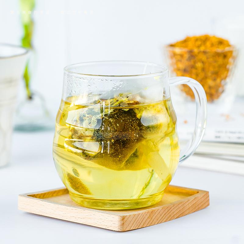 @ Инь должен глотать из гнездо жир море османтус снег груша чай прибыль горло чай хризантема ароматный чай набор из трех упакованный 420g