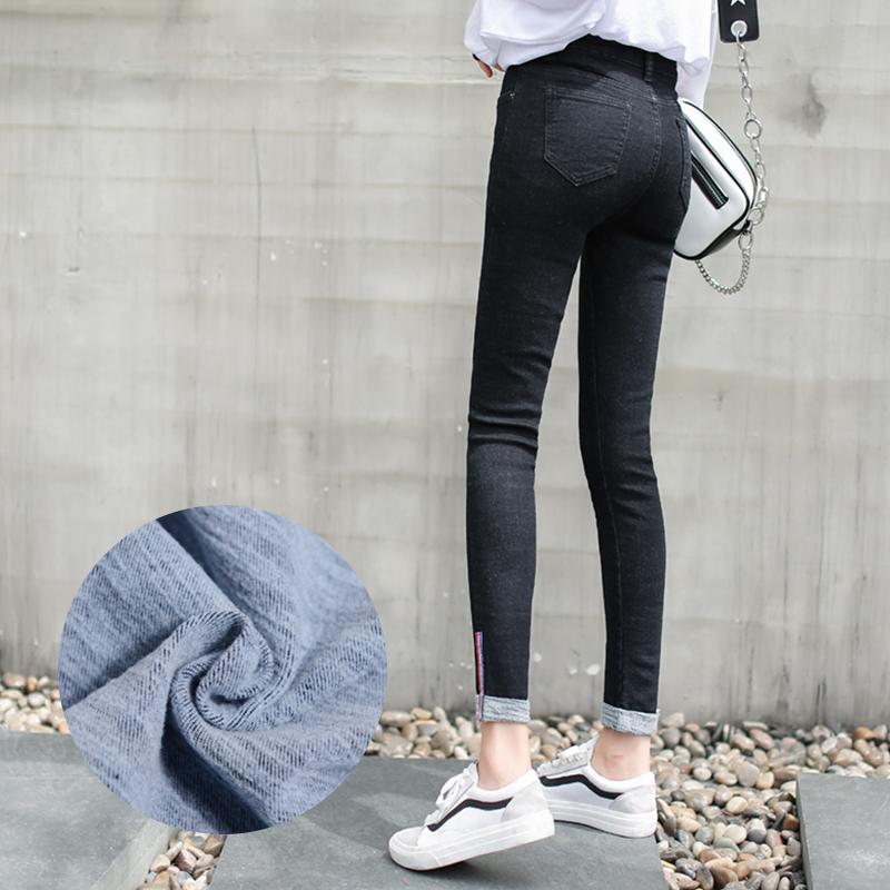牛仔裤绒008