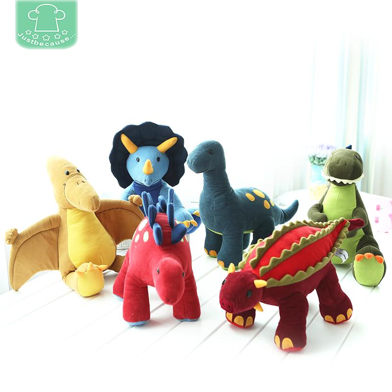微瑕特价 儿童玩具毛绒布艺公仔玩偶娃娃抱枕车载礼物 恐龙 男女