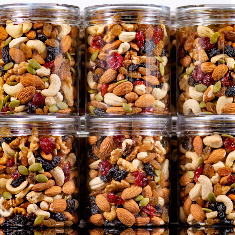 Daily nuts mixed with assorted nuts, 500g can be divided into two cans, and the combination of dry nuts and snacks for pregnant women and children