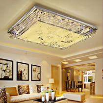现代简约卧室灯餐厅灯大气灯具灯饰led长方形水晶灯吸顶灯客厅灯