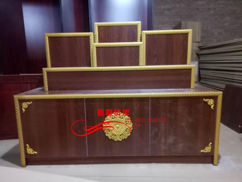 北京定做家用泰国木质展示柜