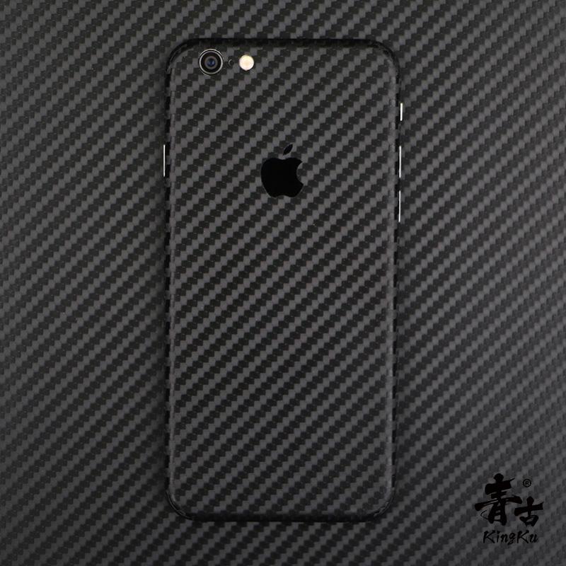 青古 iphone7手机贴纸碳纤维8P改色贴纸彩膜iPhone X贴纸背膜贴