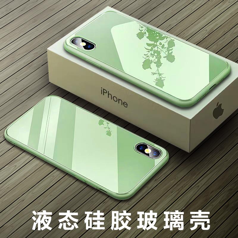 液态玻璃苹果11 x高档原装套手机壳(非品牌)