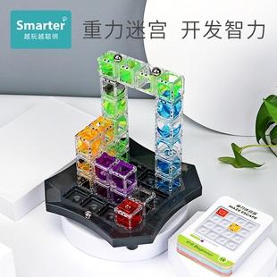 小乖蛋重力迷宮玩具走珠逃生球3d立體滾珠遊戲兒童益智專注力訓練