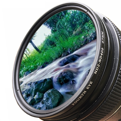 Ultra-thin ND2-400 adjustable light filter 62mm 72mm gray lens suitable for Canon and Nikon 18-200 lenses