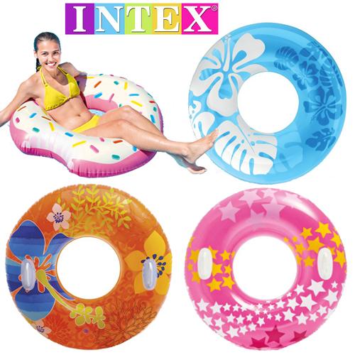 Подлинный INTEX плавать круг для взрослых сгущаться обрабатывать поплавок скрытая спасательный круг спасательный круг подмышка кольцо отправить рекламная насос бесплатная доставка