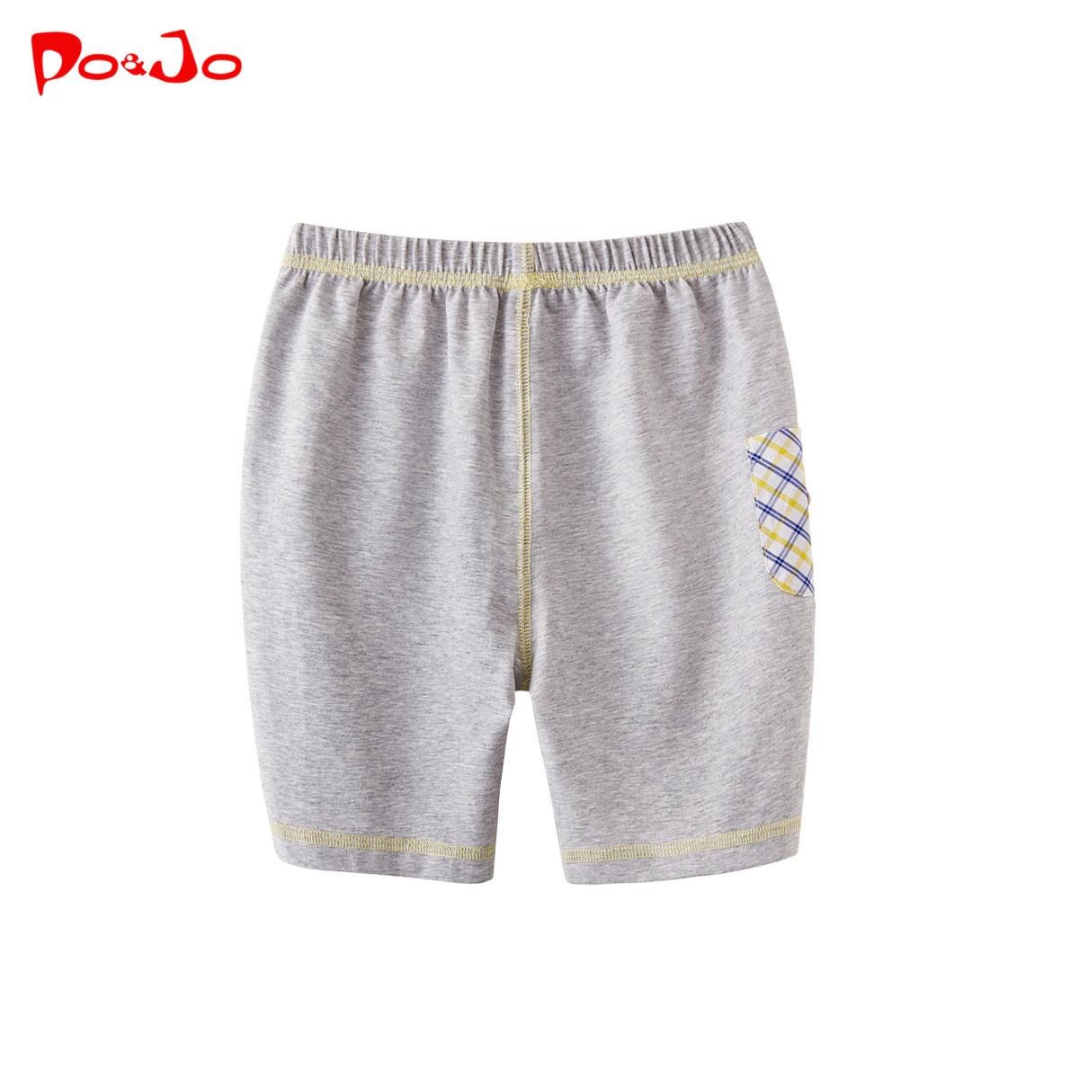 皮偌喬2016夏裝 兒 寶寶褲子 褲 褲短褲中分褲春