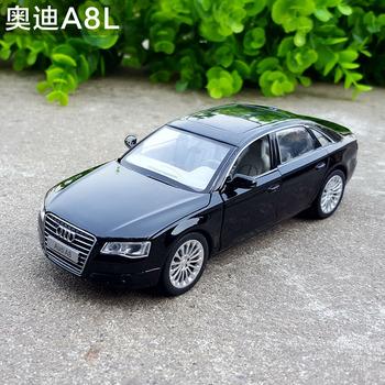 1 32奥迪a8l原厂仿真回力车模型