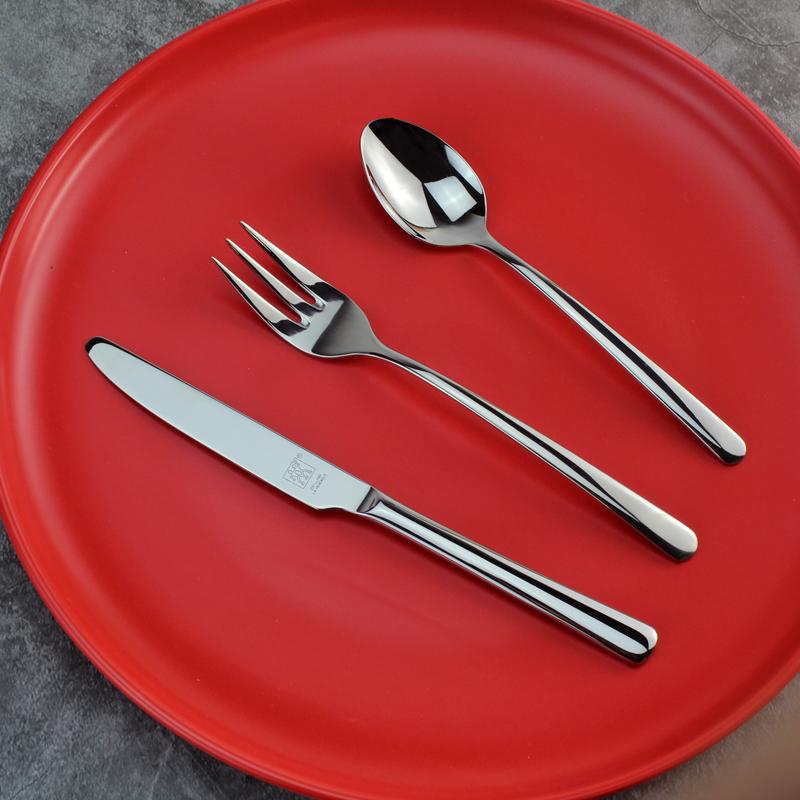 德国双立人儿童不锈钢牛排刀叉勺子