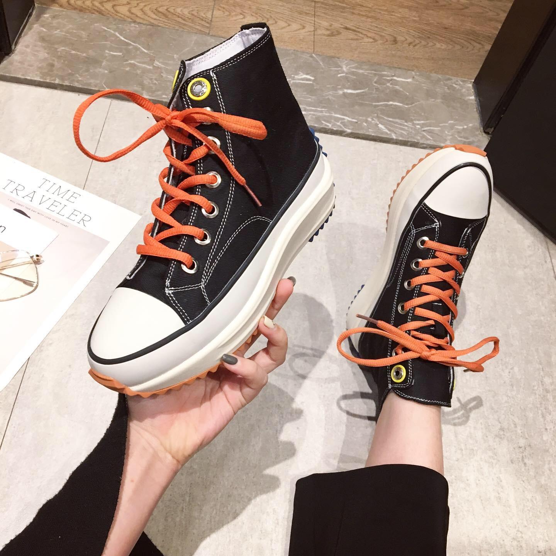 Женские ботинки на платформе / Высокие кроссовки Артикул 590958927520
