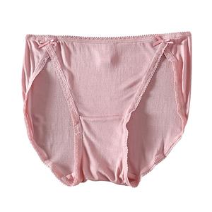 出口高档100%桑蚕丝女式内衣 女士真丝性感无痕内裤女低腰三角裤