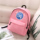 tennis print schoolbag female star peripheral the same type of backpack Korean fashion all-match casual travel sports backpack