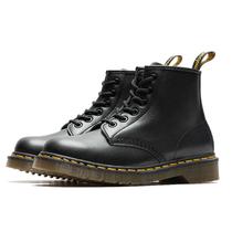 QUEENSTUDIO 《固特异工艺》1460黑色6孔马丁靴厚底短靴女机车靴