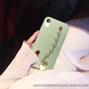 豆绿色iphonex 11苹果xr华为手机壳