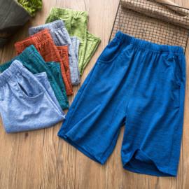 男童速干短裤吸湿排汗户外弹力五分裤夏装新款儿童中大童裤子薄款图片