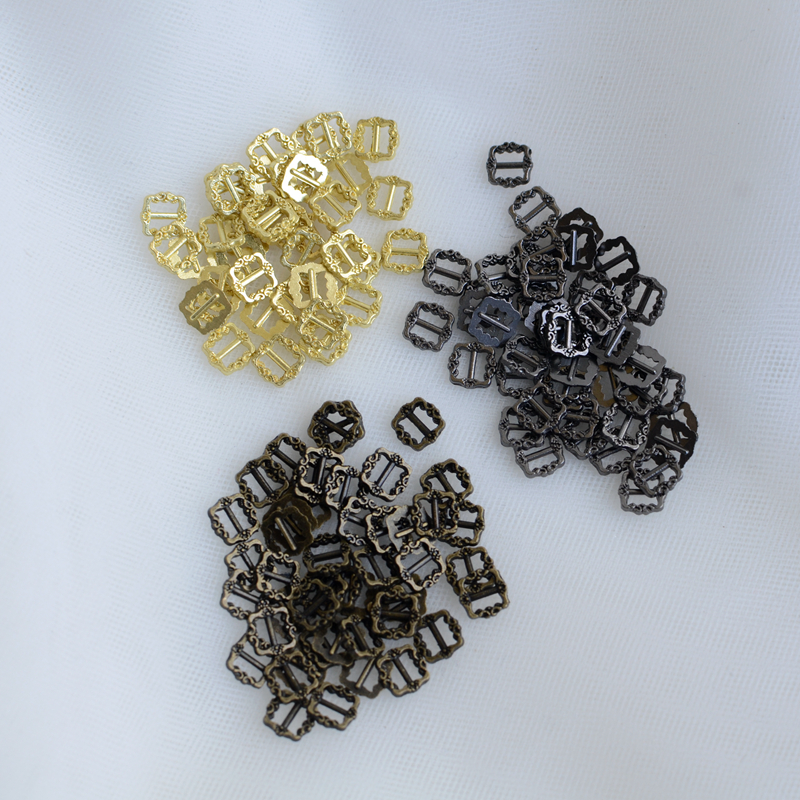Pattern mini alloy day buckle doll shoe buckle, super small belt buckle BJD doll hand made small material