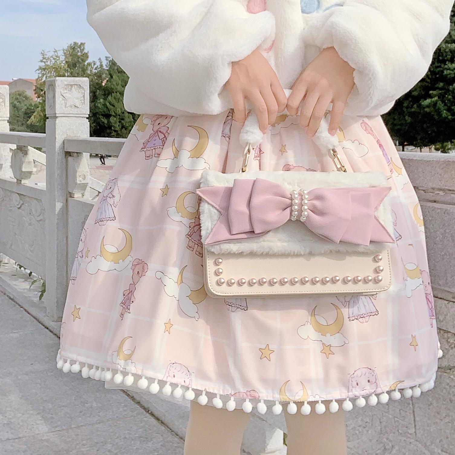 +Stock second hair + rainylove sweetheart Lolita bag collection send Pendant