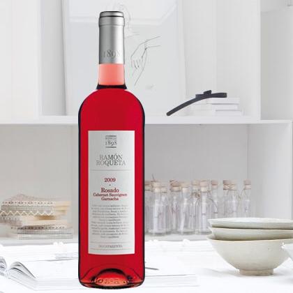 西班牙原装进口 罗蒙家族桃红葡萄酒 RAMON ROQUETA ROSADO