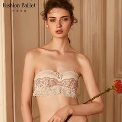 歌瑞尔旗下时裳芭蕾甜美蕾丝半罩杯内衣性感小胸聚拢文胸190047A