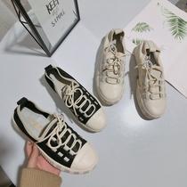 小米家不退换牛p新款休闲鞋女软底百搭单鞋学院风女鞋果1801