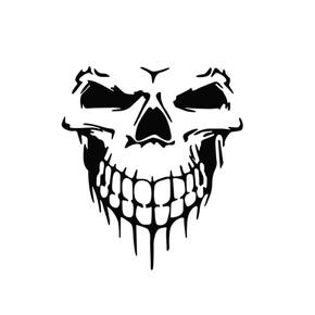 果汁刺青纹身镂空模板T097创意骷髅图腾手臂仿真刺青纹身膏模版