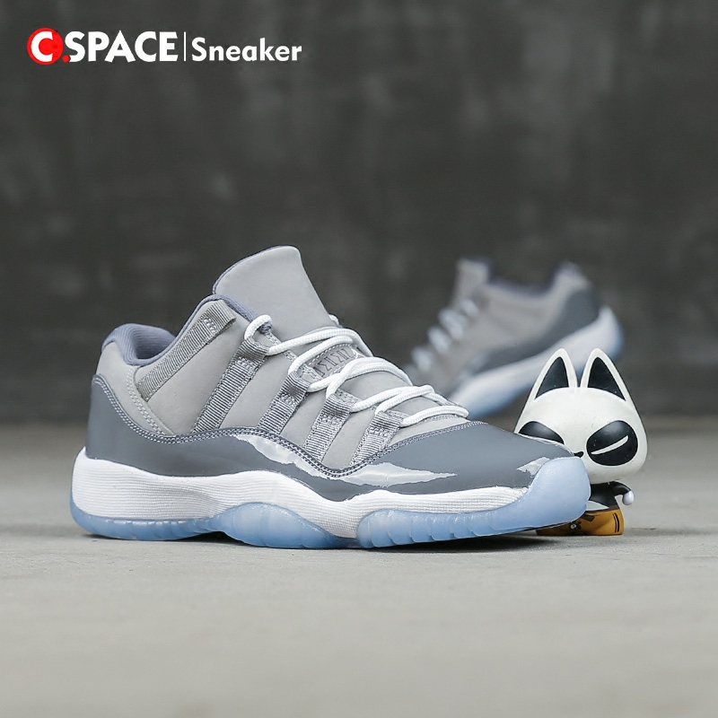 『Cspace』Air Jordan 11 Low CoolGrey AJ11酷灰低帮528895-003